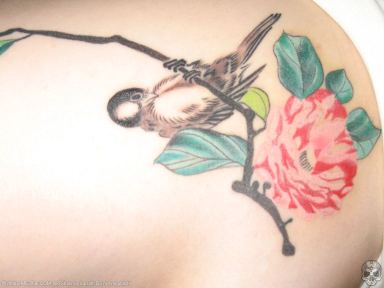 Tattoo of Tit Bird. Hi underground visitors! Welcome to the 55th issue of